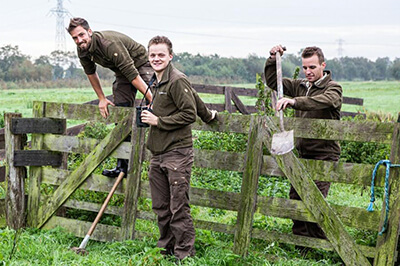 Onze leerling-boswachters