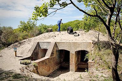 Overnachten in een bunker