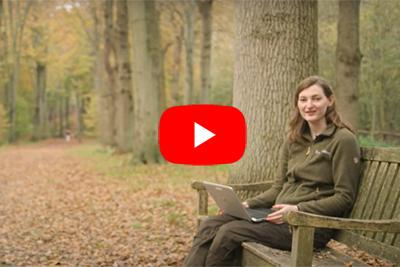 Filmpje met boswachter Lieke