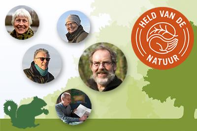 Onze helden van de natuur